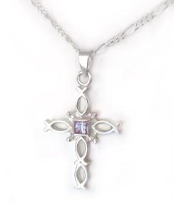 Alexandrite cross
