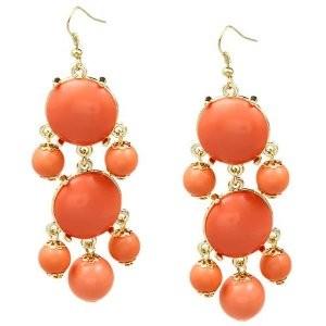 Jacinth earrings