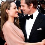 Brad Pitt Gets a Waterfall From Angelina