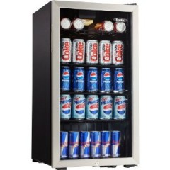 Danby Mini Fridge with Glass Door