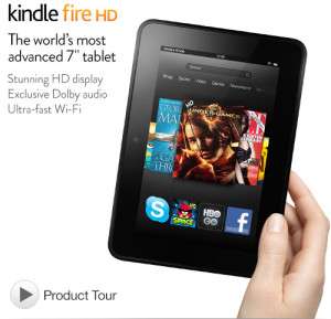 kindle hd fire