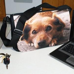 personalizeddogphotolaptopbag